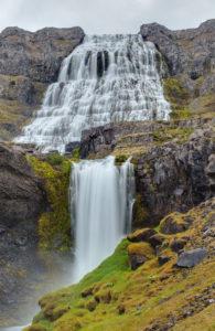 Waterfall Dynjandi, Vestfirðir, Iceland