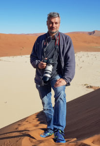 Diego in Deadvlei, Namibia