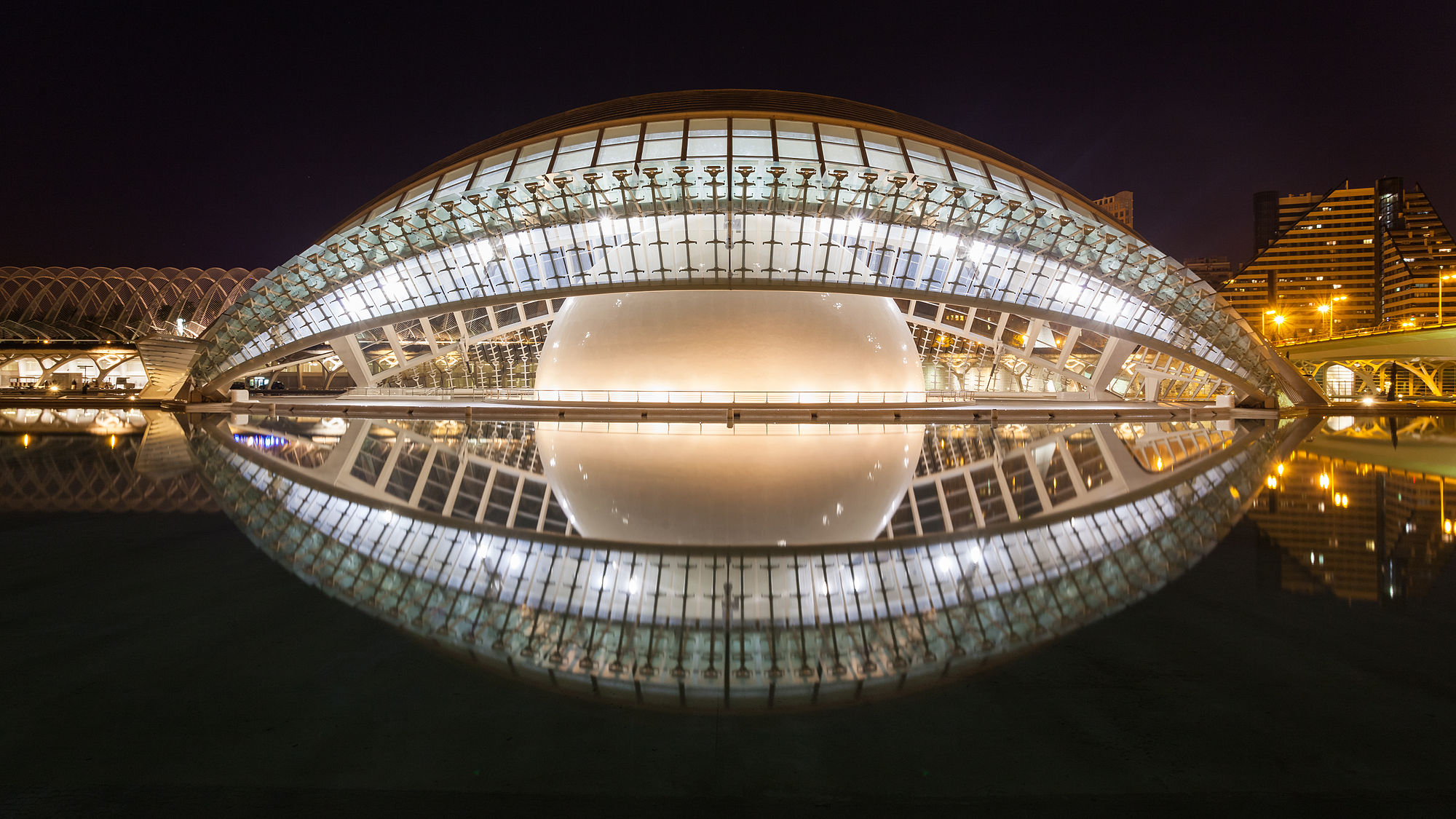 The Hemispheric, City of Arts and Sciences, Valencia, Spain.