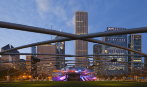 Jay Pritzker Pavilion, Chicago, Illinois, USA
