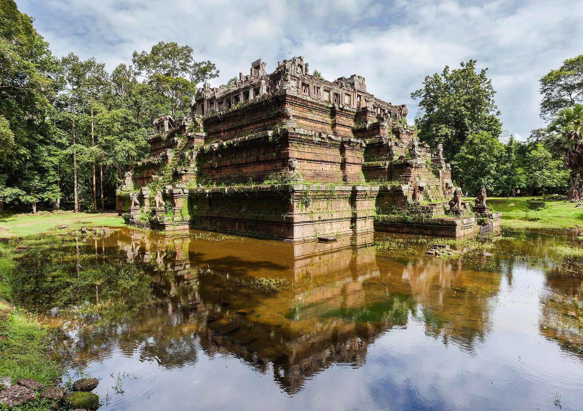 Phimeanakas, Angkor Thom, Cambodia