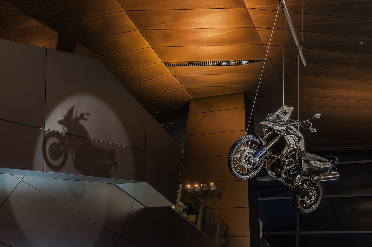 Touratech BMW F800GS, BMW Welt, Munich, Germany.