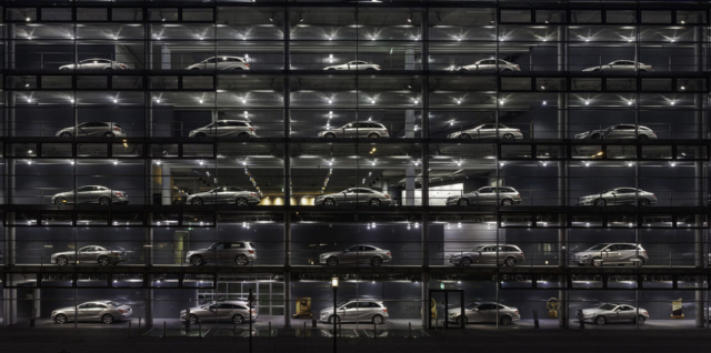 Mercedes-Benz dealership, Munich, Germany