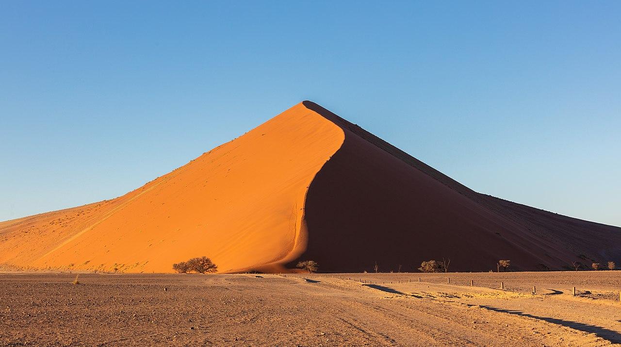 Huge dune in Km 39, Sossusvlei, Namibia.