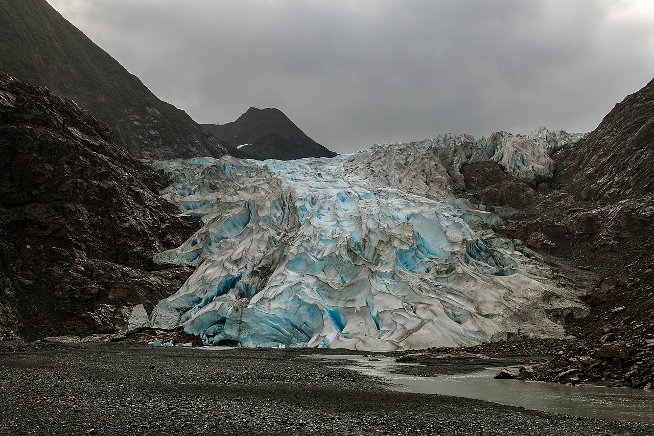 Davidson Glacier, Haines, Alaska, United States.