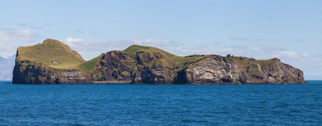 Elliðaey is one of the Westman Islands, and the third largest island in Iceland having an area of 0,45 km2.